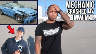 Mechanic crashed my NEW 2018 BMW M4!