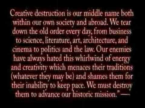 neocon mike 'creative destruction' ledeen