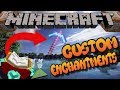 Minecraft Command Block Custom Enchantments Tutorial Bedrock Edition (Xbox One,Mcpe,Windows10)