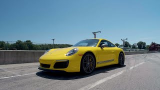 homepage tile video photo for Porsche 911 Carrera T at Lightning Lap 2019