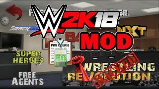 How to install Wrestling Revolution 3D WWE 2K18 Mod | WR3D WWE 2K18 Mod For Android| Hindi/urdu