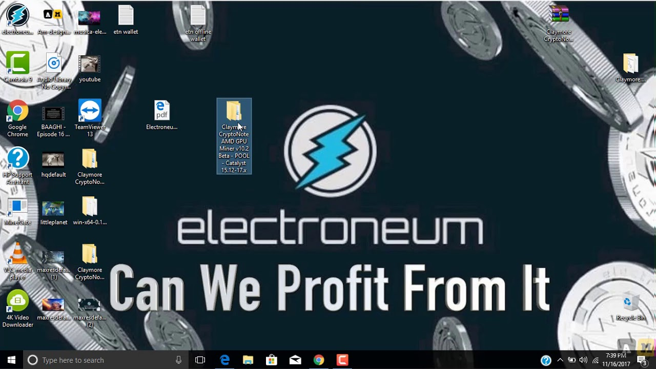 Claymore Cryptonote Gpu Miner windows 10 6 gpu mining rig electroneum why am i not seeing