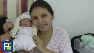 Dio a luz estando en coma: dos meses después se despertó y pudo abrazar a su bebé