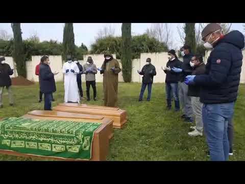 cimetière de musulman à Bergamo