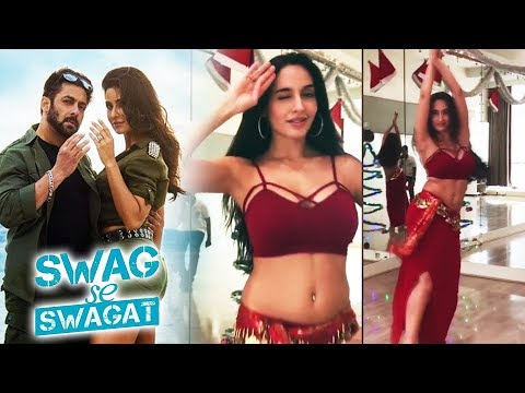 Ex Bigg Boss Contestant Nora Fatehi's Belly Dance On Salman's Swag Se Swagat | Tiger Zinda Hai