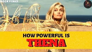 Eternal Thena Explained: Most Powerful Eternal In MCU | Angelina Jolie In MCU