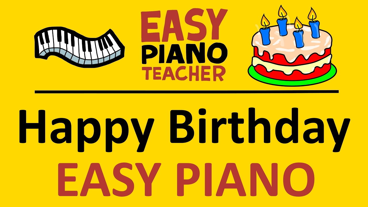 Learn How to Play Happy Birthday on Piano