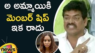 Actor Sivaji Raja Responds To Actress Sri Reddy Unclothed Protest | Mango News