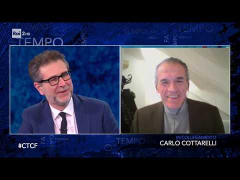 Carlo Cottarelli - Che tempo che fa 22/03/2020