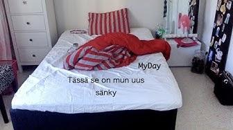 mun päivä ja uusi sänky