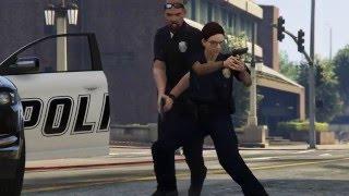 GTA 5 Terminator Trevor Visits Police Station