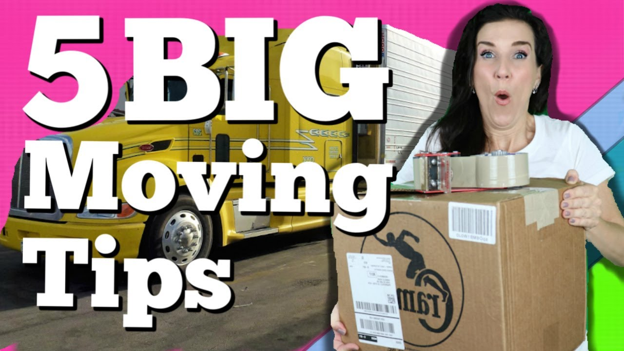 5 Tips On Hiring A Moving Company Take Tip Tuesday