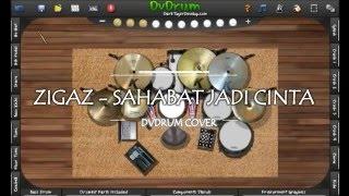 Zigaz - Sahabat Jadi Cinta (Dvdrum Cover)