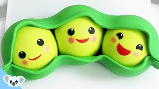 PEAS IN A POD VEGETABLE CAKE! | Koalipops How To | Toy Story Cake