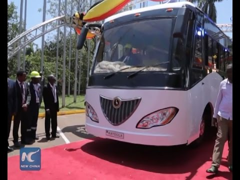 Uganda launches solar powered bus first in Africa