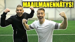 Football Challenges - NEW World Record!