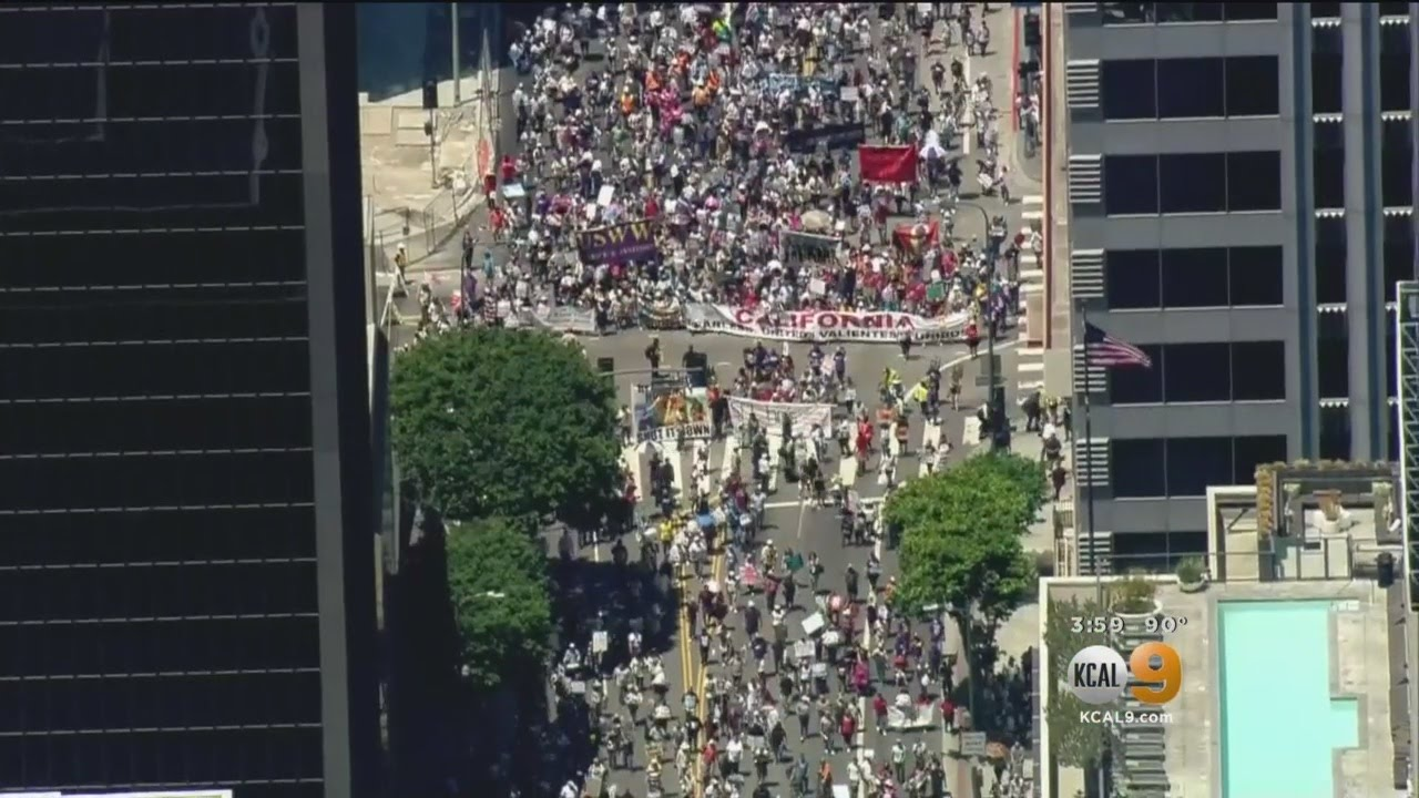 Thousands Expected For May Day March Through Downtown LA