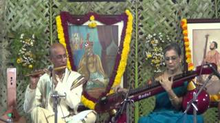 Flute-Digital veena Duet - Varnam- Bhairavi