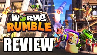 Worms Rumble Review - The Final Verdict (Video Game Video Review)