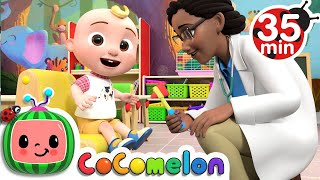 Doctor Check Up Song  + More Nursery Rhymes & Kids Songs - CoComelon