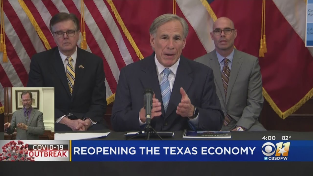 Texas 'stay home' order will expire April 30, Gov. Abbott says