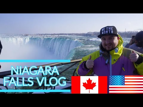 NIAGARA FALLS TRAVEL VLOG | VALENTINES | USA + CANADA | SHOPPING OUTLETS | SIGHTS | MUST WATCH |