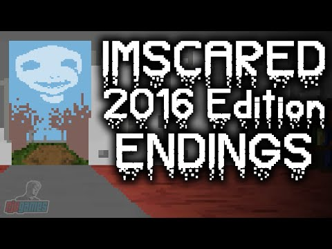 REAL ENDING/ENDINGS - Let's Play IMSCARED 2016 Steam Version Part 4 | Walkthrough Gameplay
