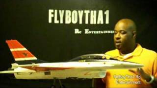 RCLander F-16D EDF 70mm EDF RC Jet * Review & Setup * Part 3
