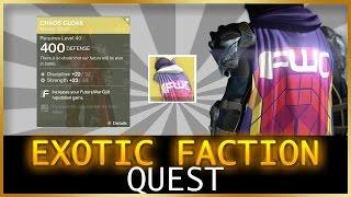 Destiny | Future War Cult Quest (Exotic Class Armor) 2017