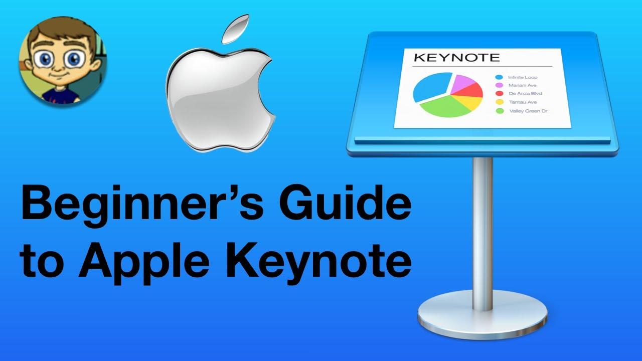 Beginner S Guide To Apple Keynote Youtube