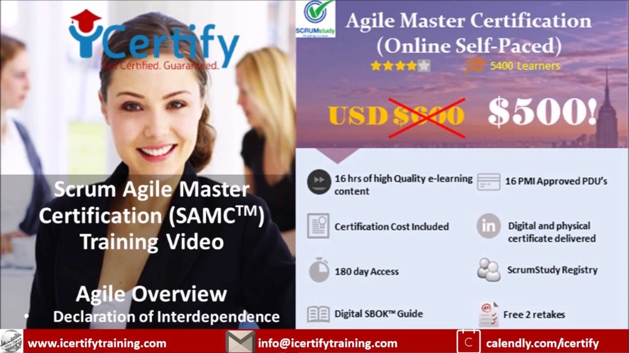 Icertify samc chap 1 agile overview video 5 declaration icertify samc chap 1 agile overview video 5 declaration of interdependence xflitez Gallery