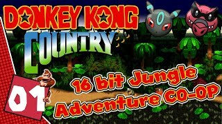 Donkey Kong Country CO-OP ep 1