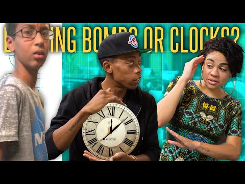 9th Grader Ahmed Mohamed Arrested For Homemade Clock - The Drop Presented by ADD
