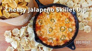 Cheesy Jalapeño Skillet Dip