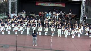 京都市立上京中学校吹奏楽部 京都駅ビルコンサート 2015年秋