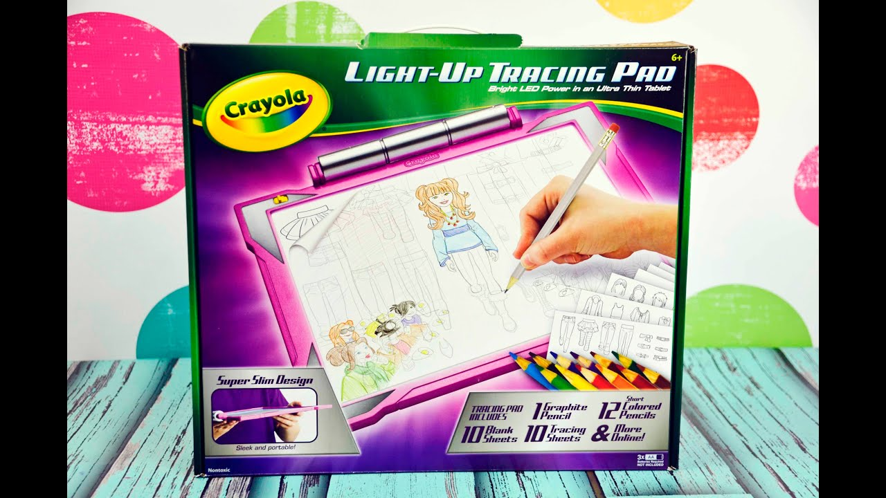 Crayola Light Up Tracing Pad Clothing Fashion Designer Youtube