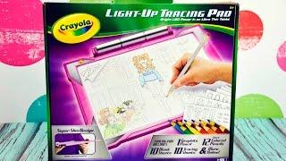 Crayola Light Up Tracing Pad Clothing Fashion Designer