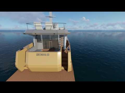 GN60 - aluminium hybrid trawler yacht