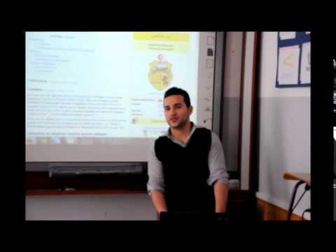 My presentation of Tunisia in Poland