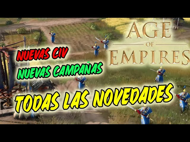 MENUDO HYPE CON AOE4! - TODAS LAS NOVEDADES DEL Age of Empires: Fan Preview EN ESPAÑOL