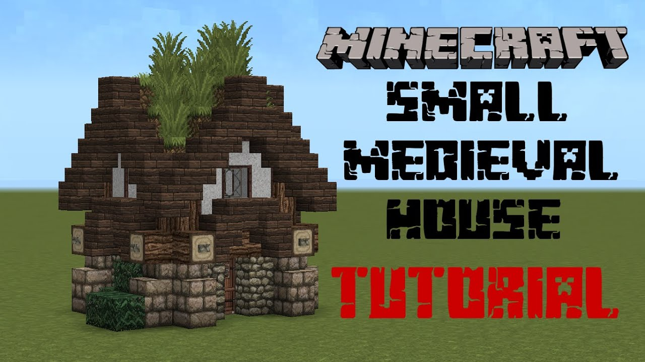Minecraft medieval house tutorial youtube for Classic house tutorial