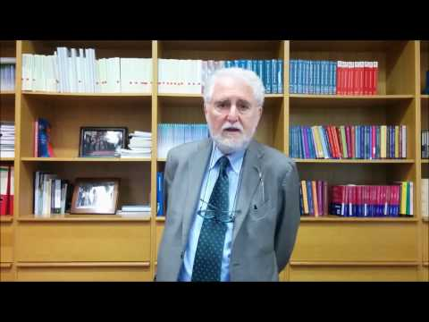 Presentation by Vincenzo Ferrari - International Master's in the Sociology of Law 2017/2018