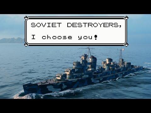 """First Look // Soviet Destroyers / """"Shotgun ninjas best ninjas"""""""