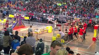 2018 FIRST FRC Houston Championship #2018tur qm98 team 5417