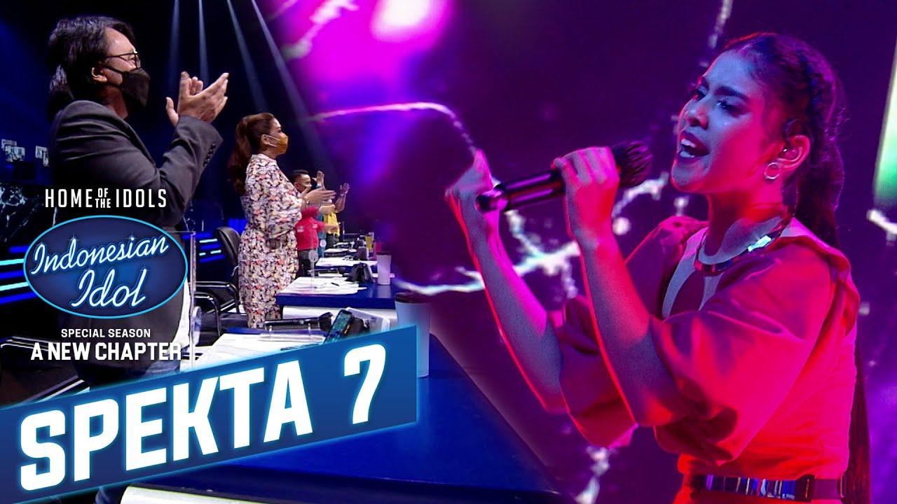 Amazing Rimar !! Mendapatkan 5 Standing Applause - Spekta Show TOP 7 Indonesian Idol 2021