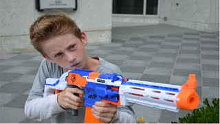 Nerf Duel: The Chase