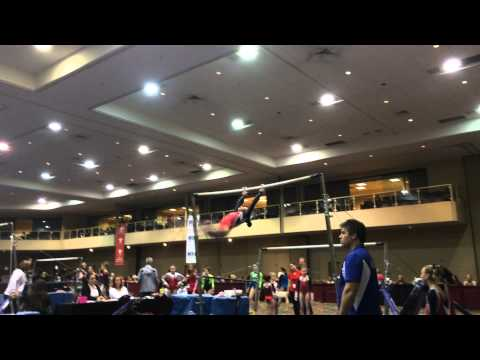 Adriana Davinni- Bars-Level 8- 2015 Brestyan's Las Vegas Invitational (9.625)