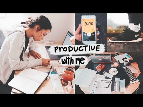 GET PRODUCTIVE WITH ME //Jusuf