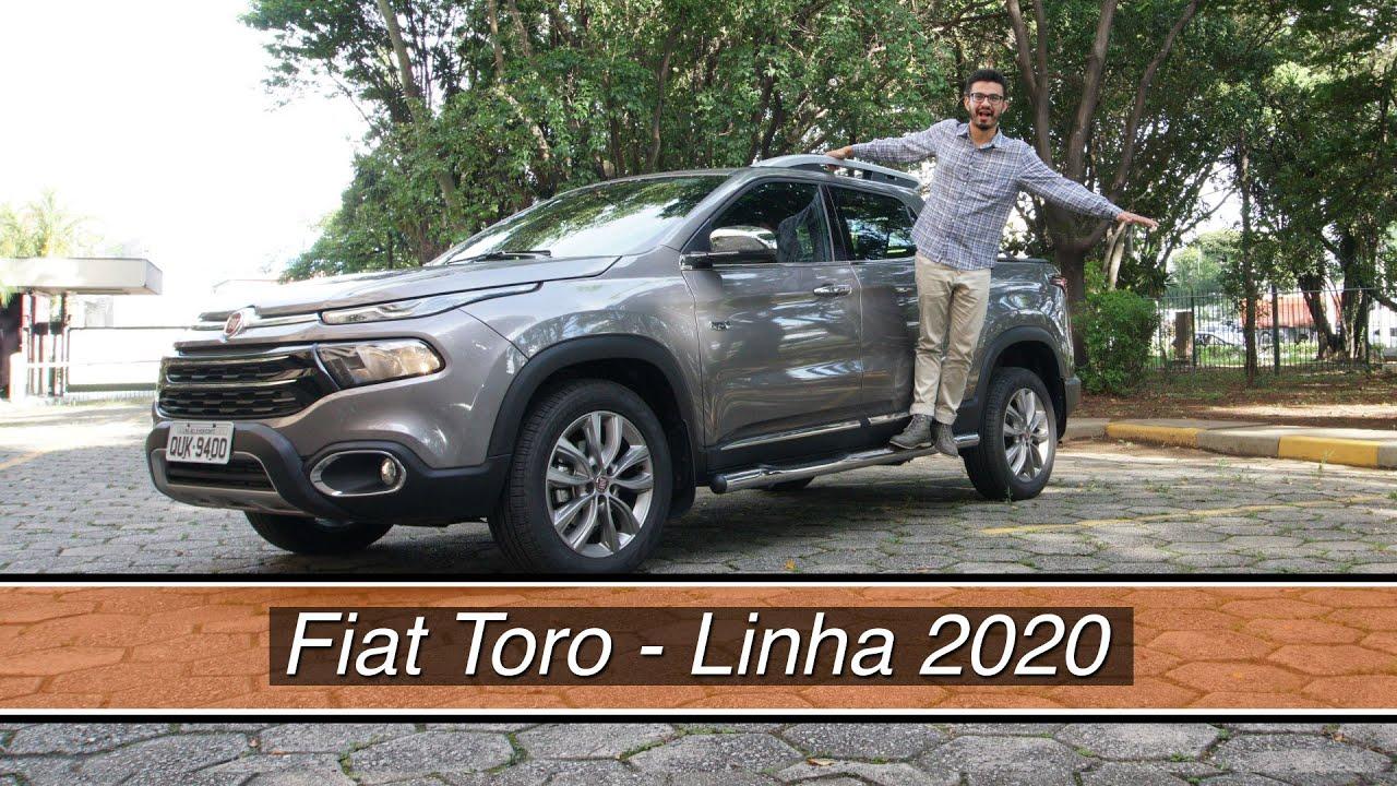 Fiat Toro: todos os detalhes da linha 2020