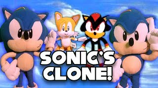 Sonic the Hedgehog - Sonic's Clone!